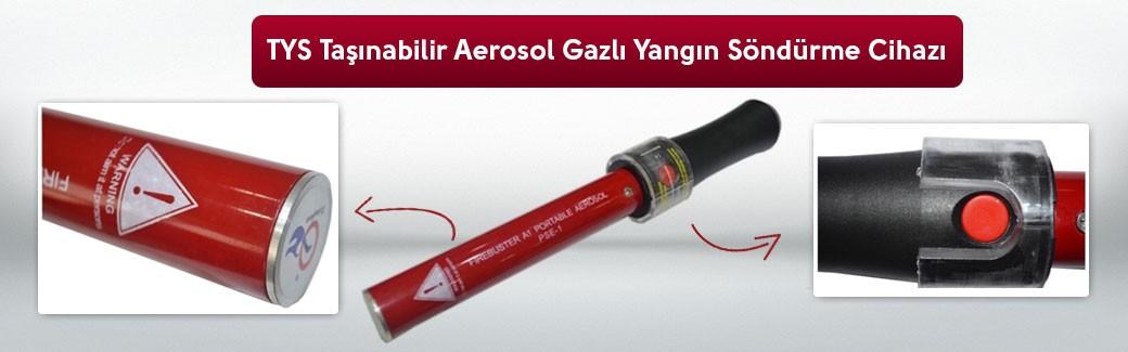 Aerosol Yangın Söndürücü