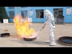 Aeresol Yangın Söndürme Demosu 1
