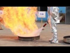 Aeresol Yangın Söndürme Demosu 2