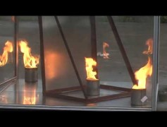 Aeresol Yangın Söndürme Demosu 4